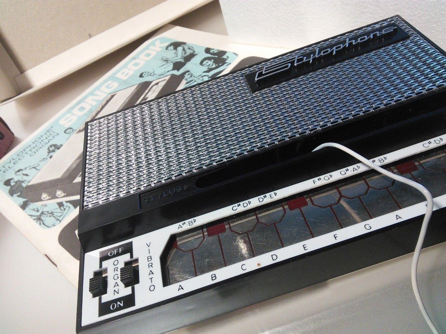 matrixsynth stylophone retro pocket synth with original box docs. Black Bedroom Furniture Sets. Home Design Ideas