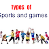 All Types/Kinds of Sports & Games List.