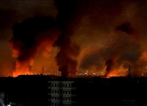 هجوم جديد بالصواريخ على بعض المواقع العسكرية في ريفي حماة وحلب