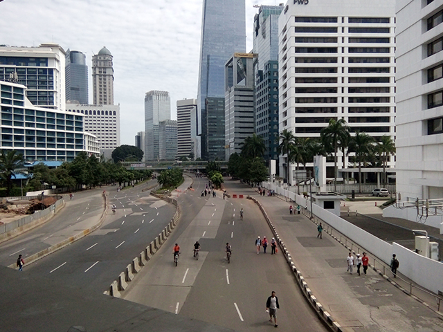 Jalan Sudirman - M.H.Thamrin, Saksi Bisu Perjuangan Hidupku