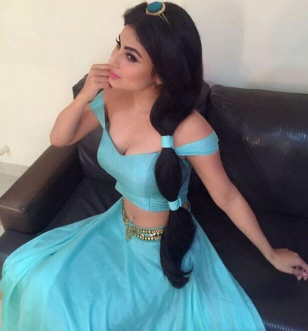 Mouni Roy Disney Princess Jasmine