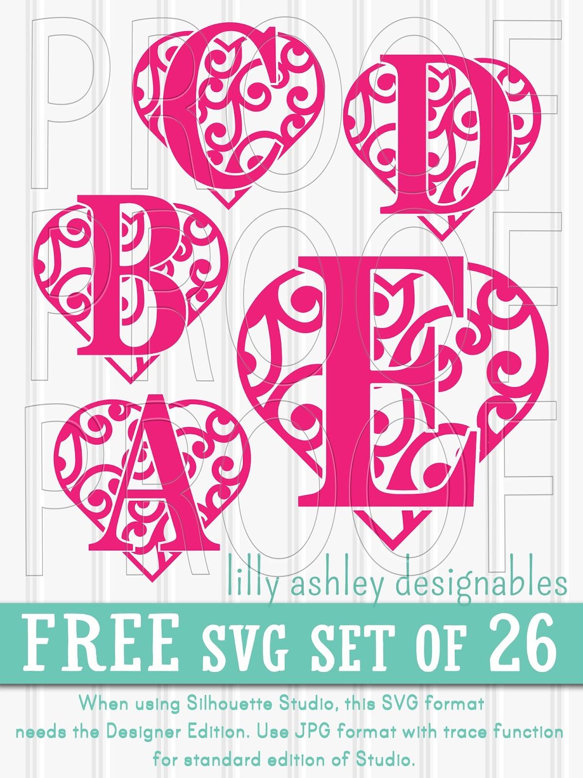 Make it Create by LillyAshley...Freebie Downloads: Free SVG File Set ...