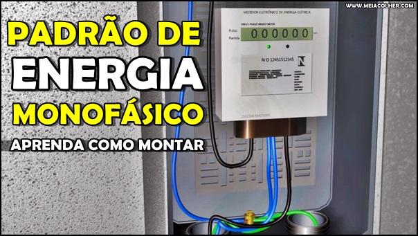 padrão de energia monofásico