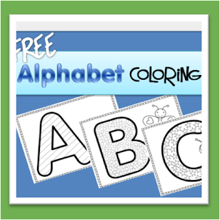 Worksheets Alphabet Coloring Pages