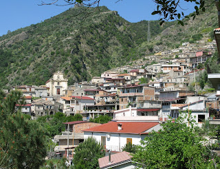 San Luca is on the eastern slope of Aspromonte