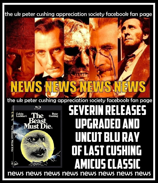 NEWS! SEVERIN ANNOUNCES CUSHING BLU RAY