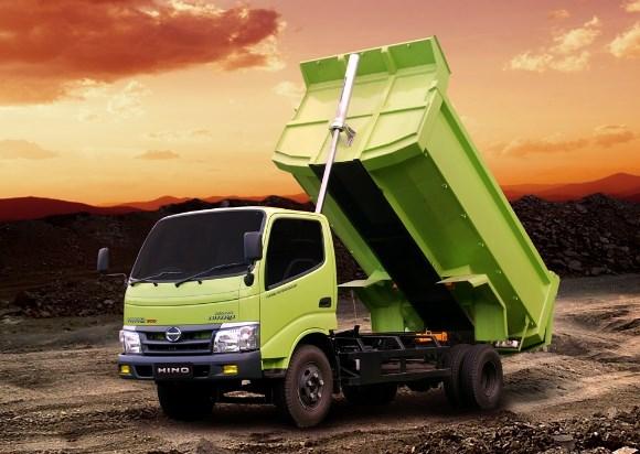 hino dutro dump truk keren