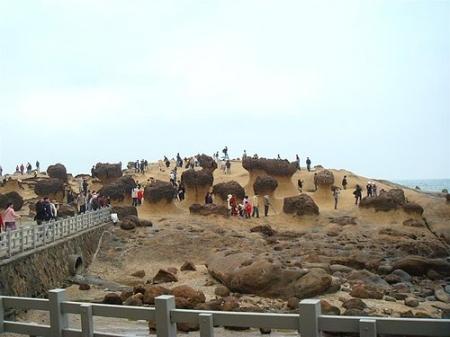 野柳地質公園|野柳風景特定區|北海岸一日遊|新北萬里景點
