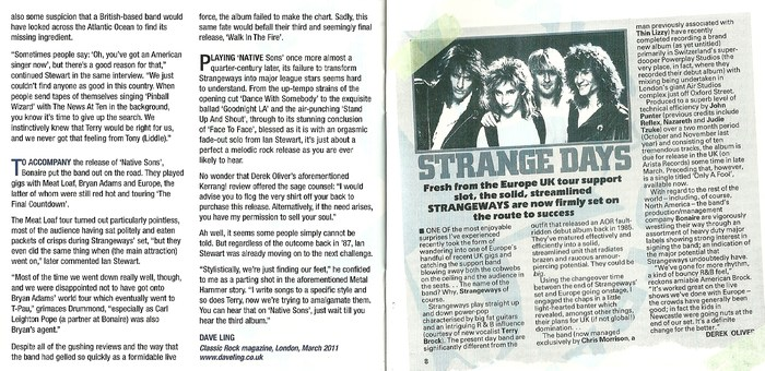 STRANGEWAYS - Native Sons [Rock Candy remaster +2] booklet