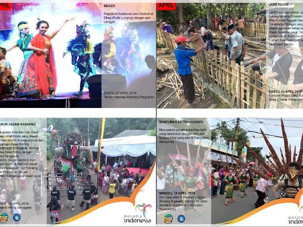 Kalender Agenda Budaya dan Pariwisata Kabupaten Banyumas 2018
