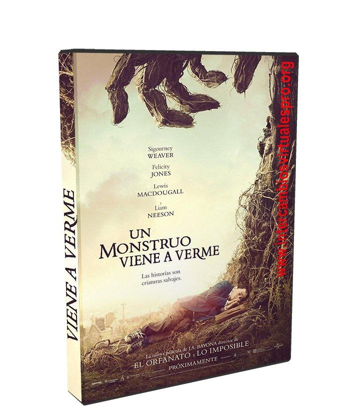 Un monstruo viene a verme poster box cover