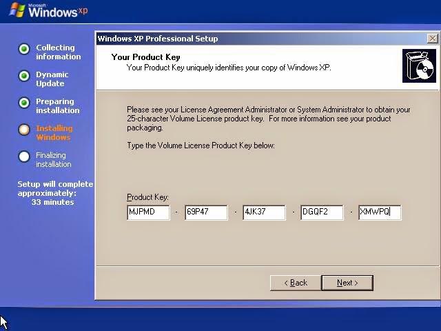hướng dẫn cài đặt windown xp 3 bằng hình ảnh