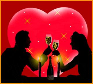 Un matrimonio estaba cenando en un exclusivo restaurante, cuando de pronto, una chica muy mona, elegante, de fino estilo y de cuerpo casi perfecto, entra, se acerca a la mesa, le da al marido un beso que quita el aliento, diciéndole :
