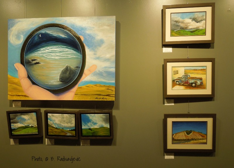 Linda Loebs Art Exhibit at Kennedy Fitness, Paso Robles