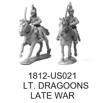 American Light Dragoons from Brigade Games