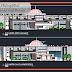 مشروع مركز الخدمات المصرفية اوتوكاد dwg