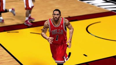 Derrick Rose Indecision on Return Bulls versus Heat