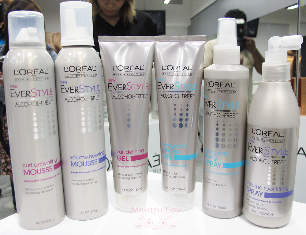 l oreal hair styling products launch l oreal hair expertise everstyle 8023
