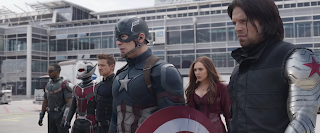 Captain America Civil War airport fight scene