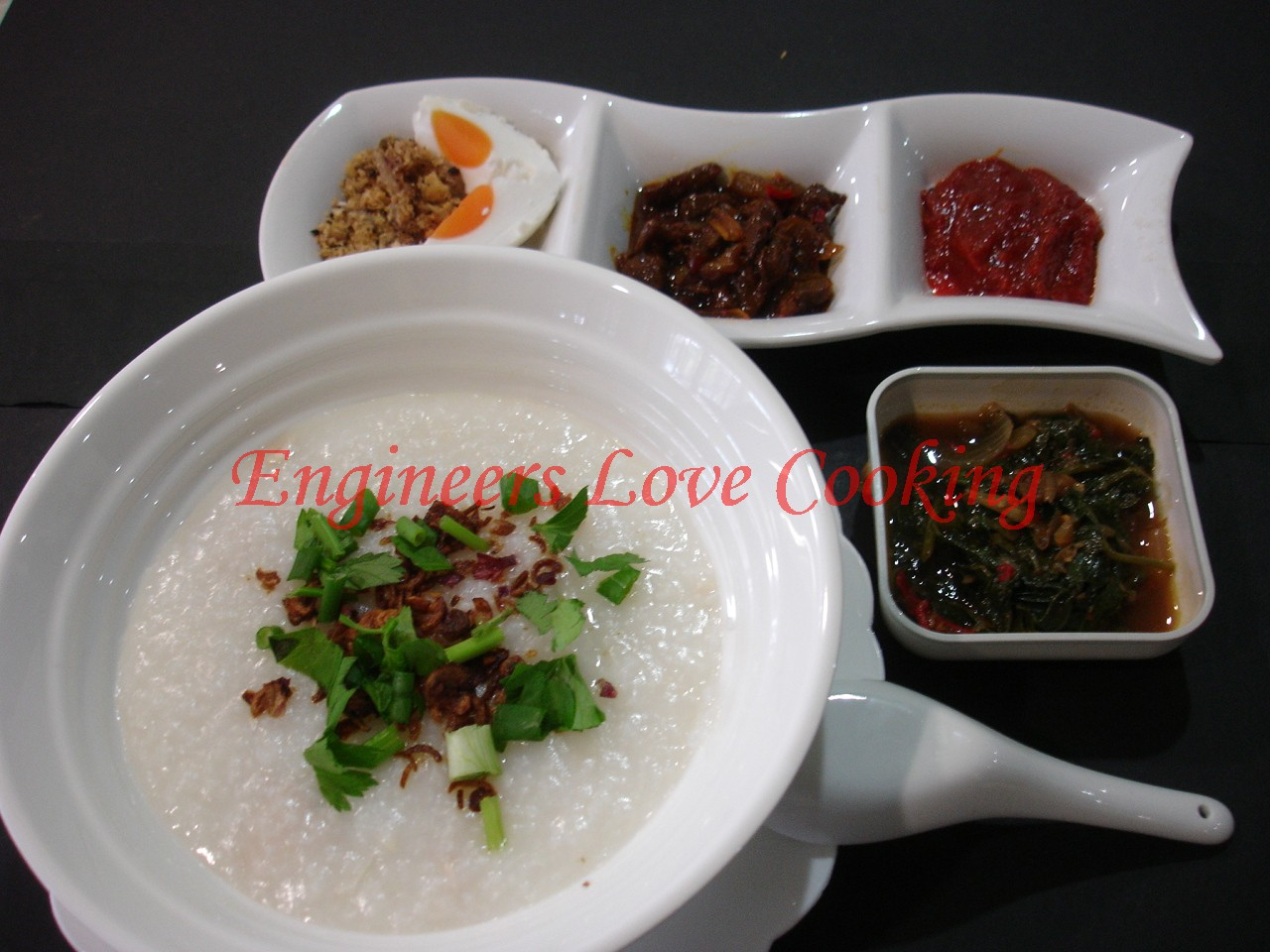 Engineers Love Cooking: BUBUR NASI AYAM / HOMEMADE CHICKEN PORRIDGE