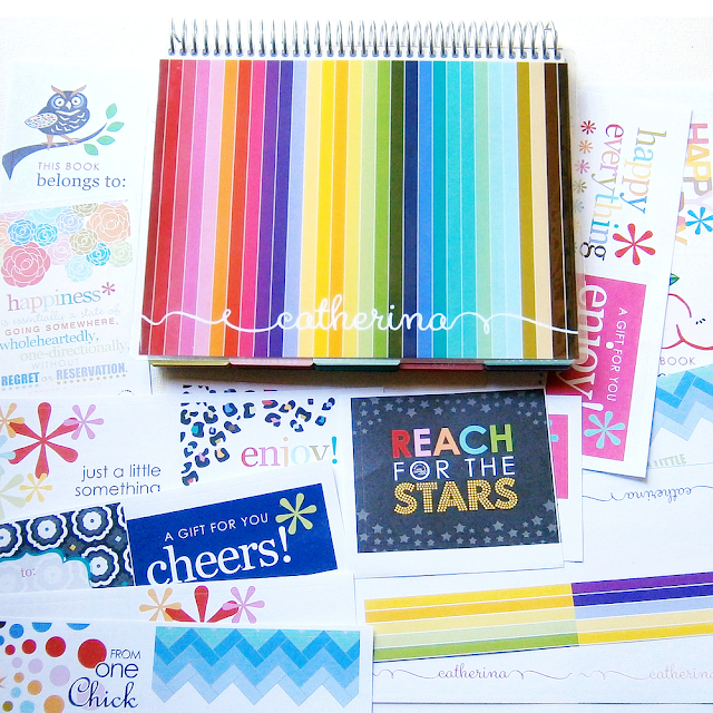 Erin Condren Planner Stripes Cover