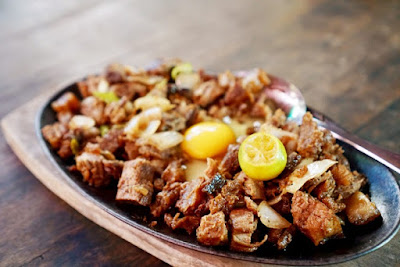 Bagnet Sisig at Lilong and Lilang Restaurant