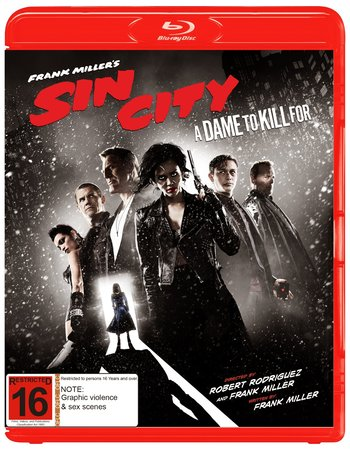 Sin City: A Dame to Kill For (2014) Dual Audio 720p