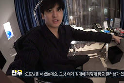 190322 Chanwoo Sari : Reading comments after a long time! Encouragements to subscribers?
