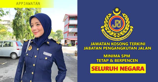 Jawatan Kosong di Jabatan Pengangkutan Jalan (JPJ)
