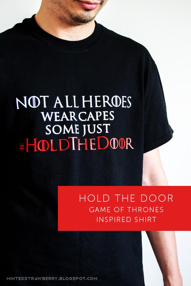 hodor shirt DIY