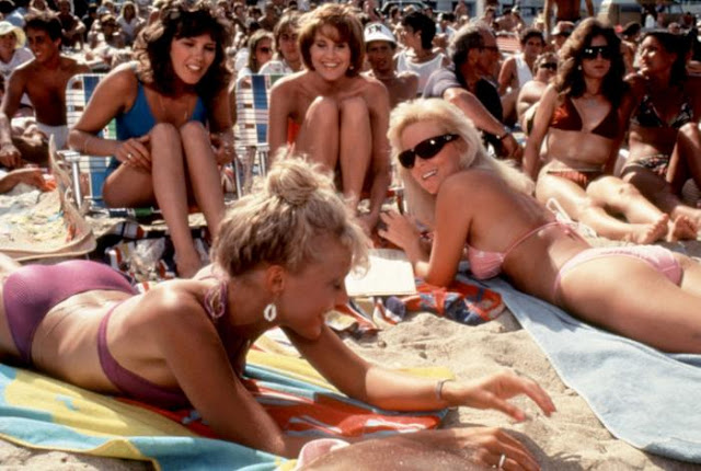 On the Beach Where the Boys are '84 1984 movieloversreviews.filminspector.com