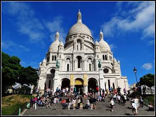 艾瑞克的旅行空間: 巴黎蒙馬特的散步筆記-2 (驚艷的聖心堂與蒙馬特觀光小火車之旅)