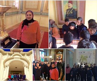 زيارة الى متحف المجوهرات الملكية بالاسكندرية و رحلة ثقافية لطلبة IG بمدرسة EBS