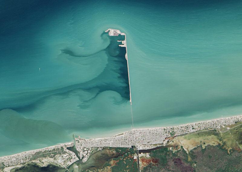 Muelle fiscal de Progreso, el muelle más largo del mundo | Mexico