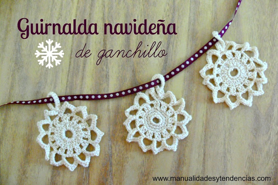 Decoración navideña a crochet 1ª parte. 10 ideas con tutoriales ...