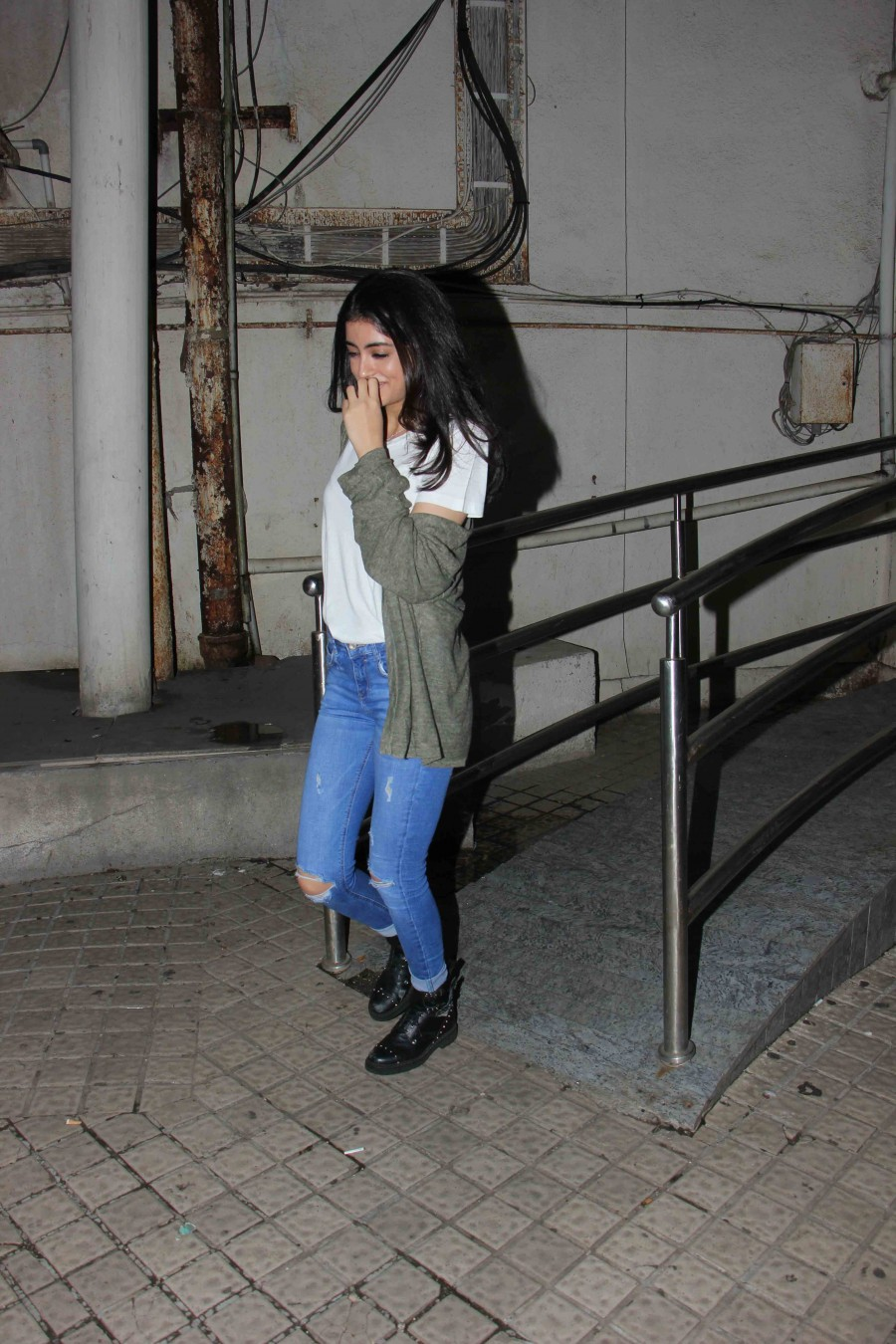 Navya Naveli Nanda Spotted at Juhu PVR In Mumbai