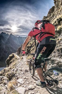 MTB Hochfeiler Mountainbike Tour Sterzing - Gran Pilastro 3509 m.ü.A.