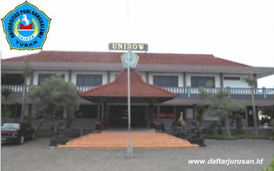 Daftar Fakultas dan Program Studi UNIROW Universitas PGRI Ronggolawe Tuban