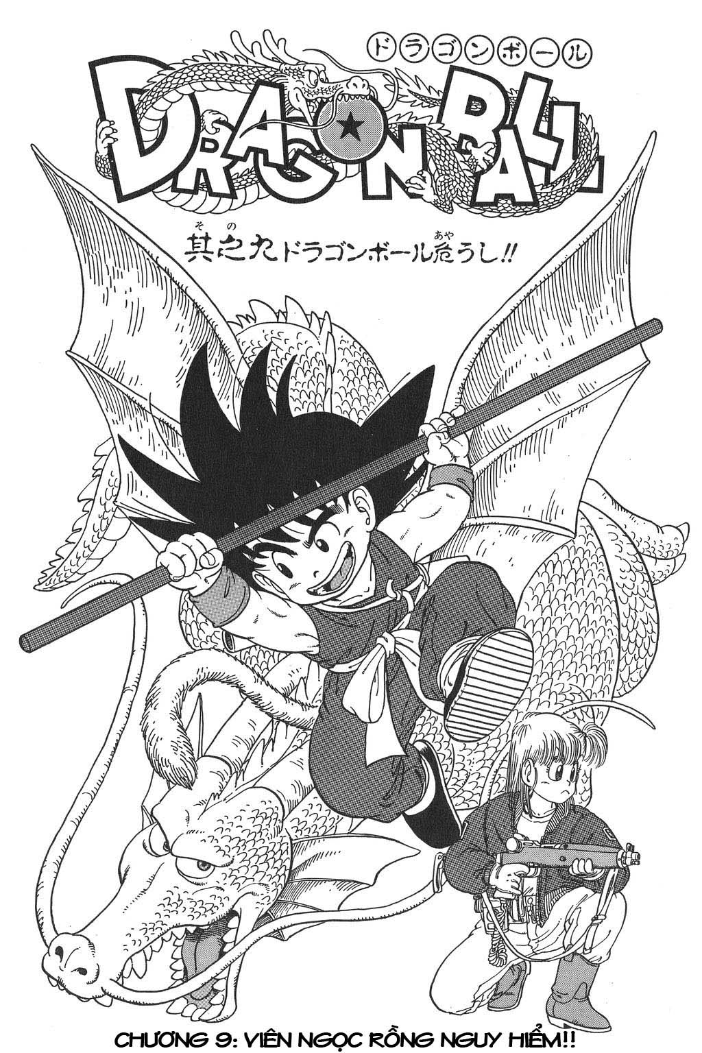 Dragon Ball chap 9 trang 1