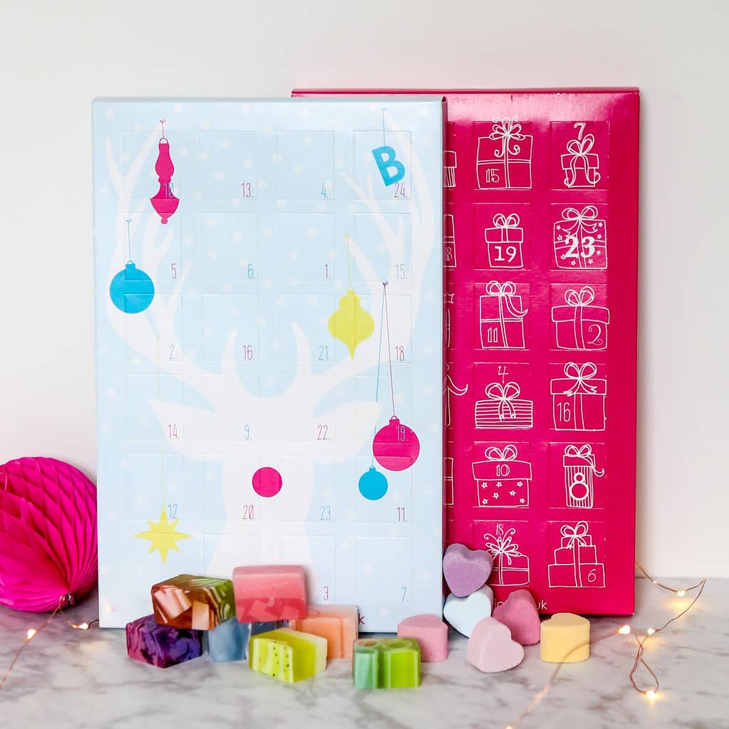 5 ALTERNATIVE ADVENT CALENDARS UNDER £35 | Love, Maisie | www.lovemaisie.com BATHBOMBANDSOAP
