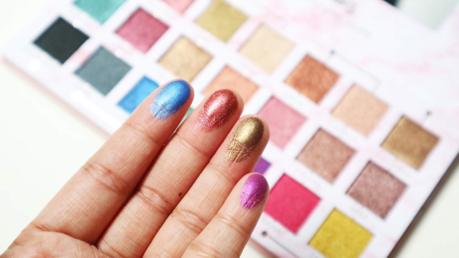 Detail Makeover Metallics Eyeshadow Palette