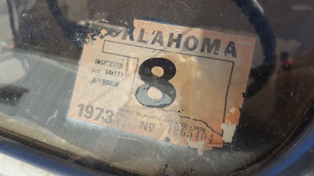 1973Oklahomainspectiontag