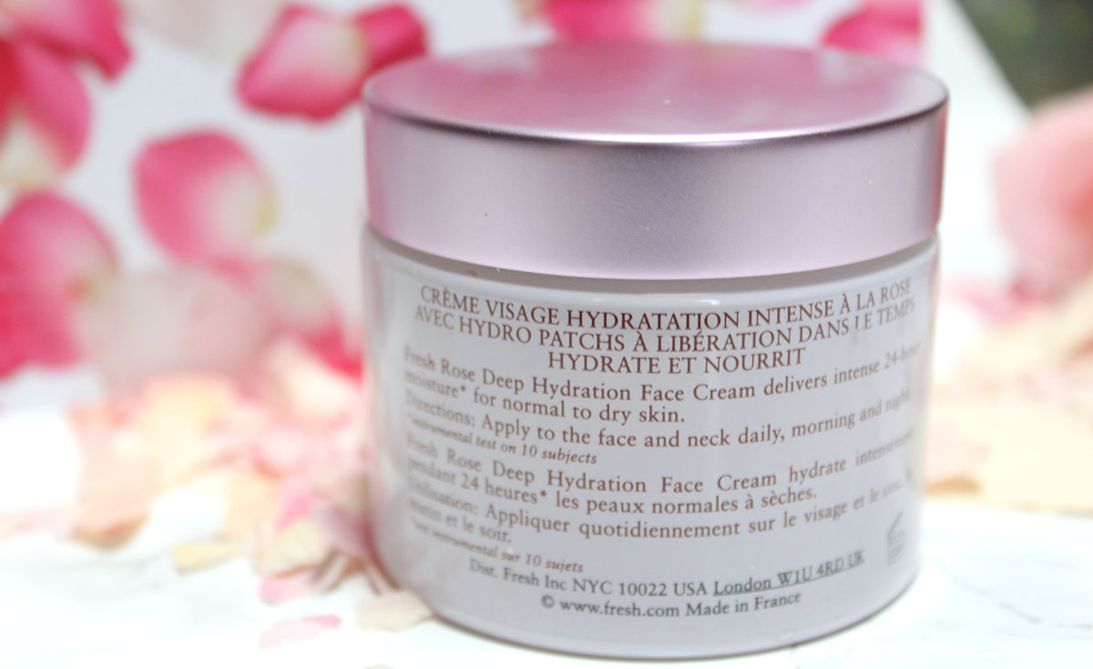 Fresh Deep Hydration Face Cream Review