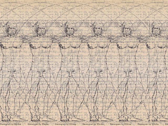 estereogramas, imágenes, stereogram, juegos, magia