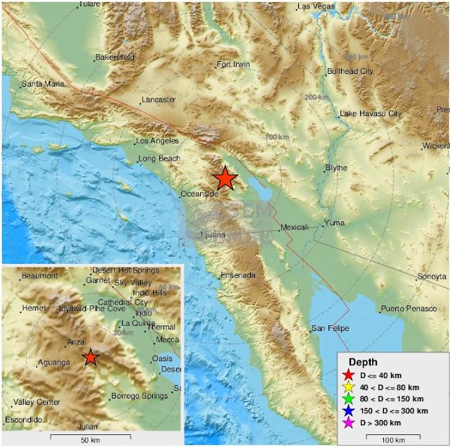 California earthquake tonight