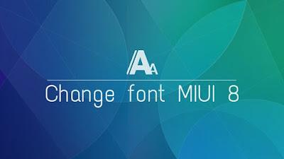 Image result for Cara Mudah Ganti Font Di Rom MIUI 8 Global Tanpa Root