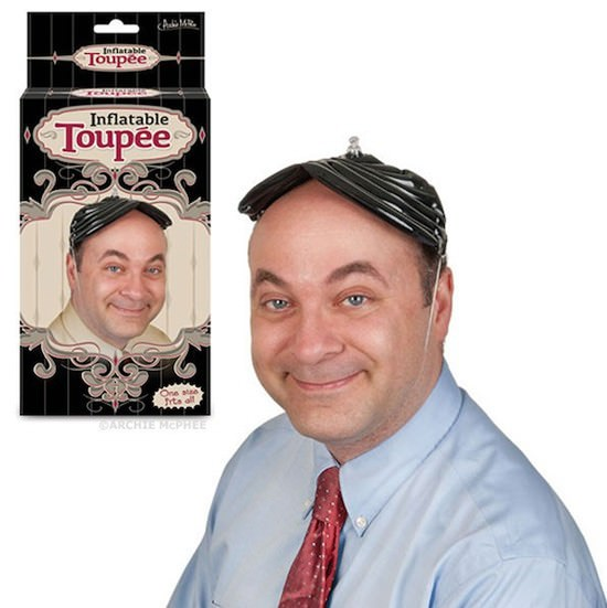 Funny Inflatable Toupee Picture