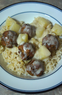 Spicy Hawaiian Meatballs with Coconut Pineapple Sauce: Savory Sweet and Satisfying