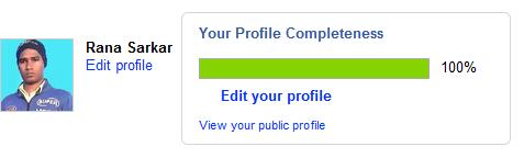 odesk profile 100% complete