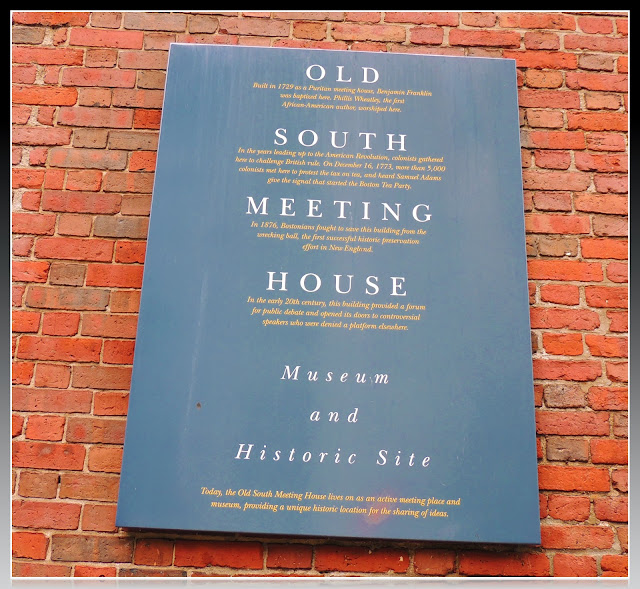 Old South Meeting House de Boston
